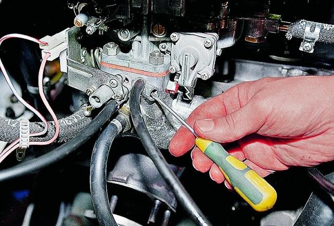 Настройка автомобильного карбюратора
