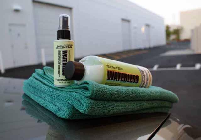 Инструменты для сухой мойки автомобиля
