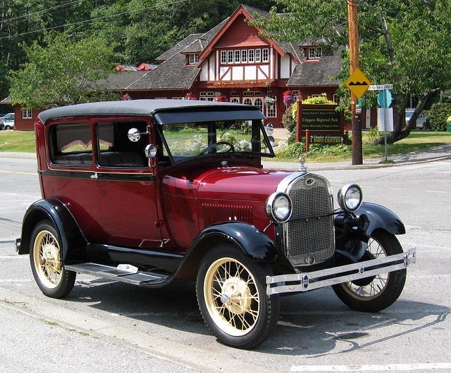 Ford «Модель A» 1928 года