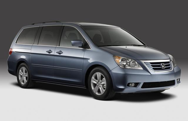 Авто для всей семьи — Honda Odyssey