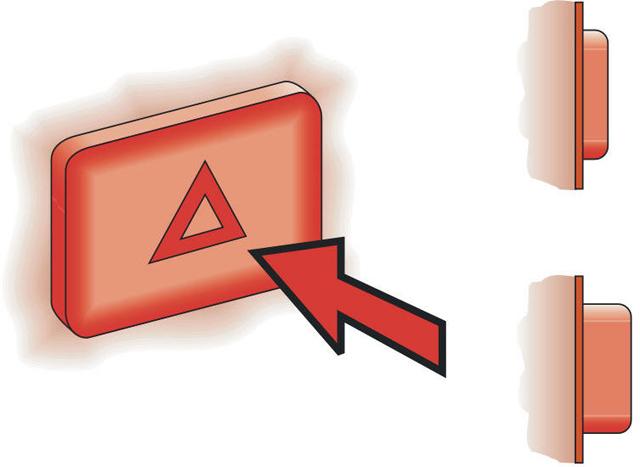 Кнопка включения сигнала аварийной остановки