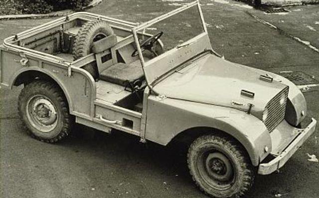 Land Rover 1947 года