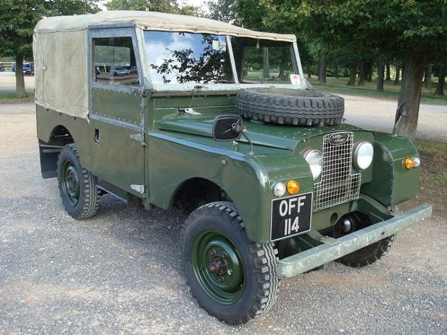 Land Rover 1953 года