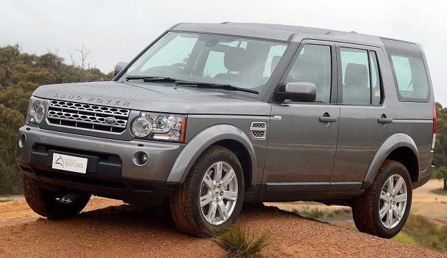 Современный Land Rover Discovery