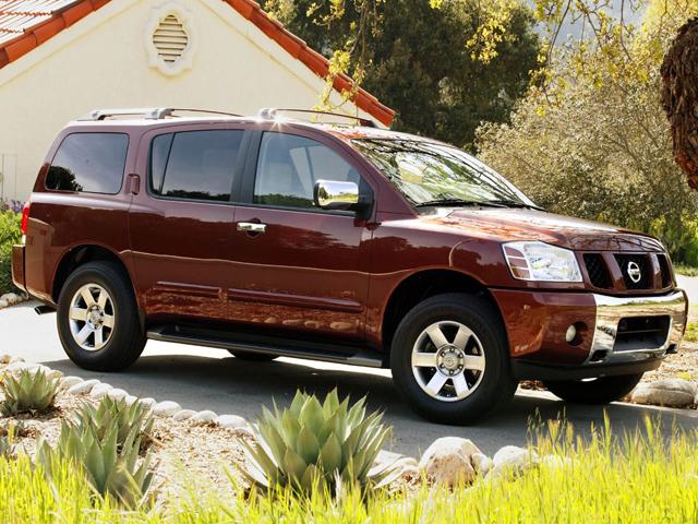 Nissan Armada для семейных прогулок