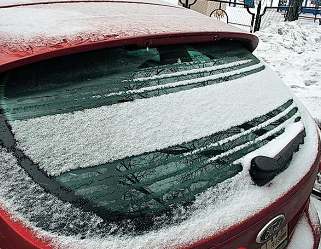 Обогрев заднего стекла автомобиля