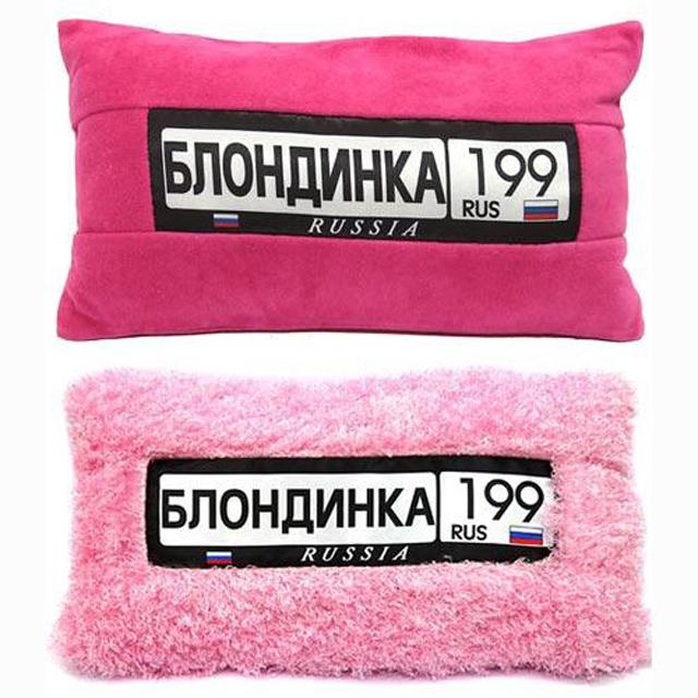 Женские автомобильные подушки