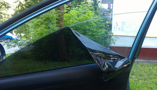 Снятие тонировки со стекол