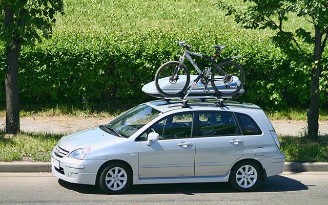 Перевозка велосипеда и автобокса