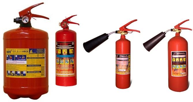 Огнетушители компании Противопожарное Обеспечение М