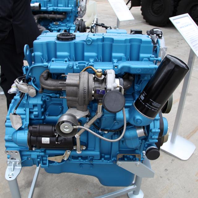 Форсированный дизельный двигатель