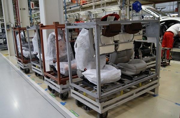 Производство автомобильных сидений