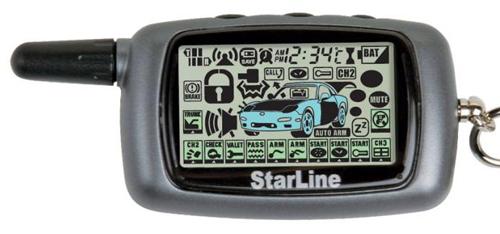 Брелок автомобильной сигнализации Старлайн