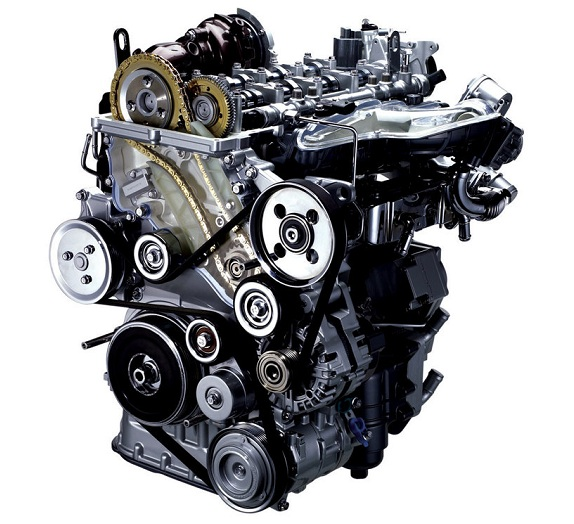 Внешний вид дизельного двигателя