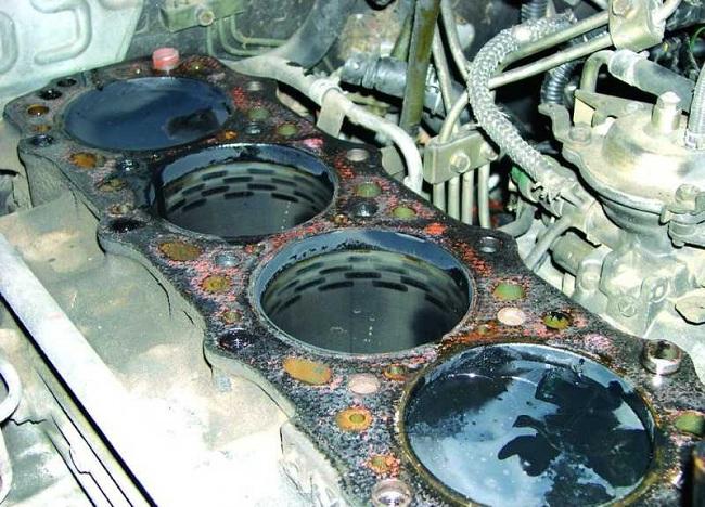Износ дизельного двигателя