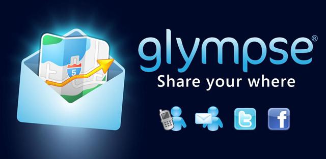 Приложение Glympse позволяет передавать ваше местоположение в режиме реального времени