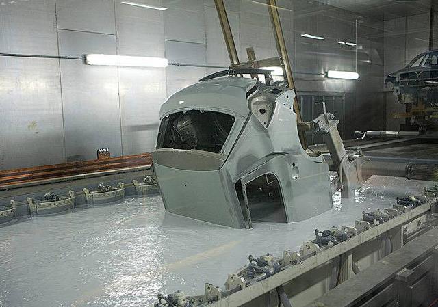 Процесс оцинковки кузова автомобиля