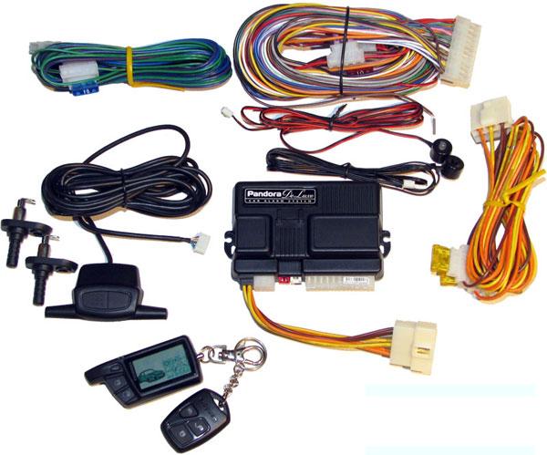 Комплект сигнализации Пандора для установки