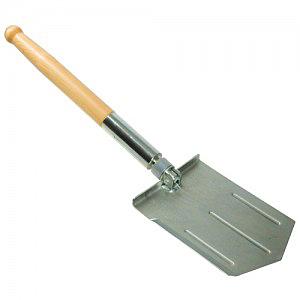 Металлическая автомобильная лопата