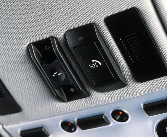 Система экстренного вызова Assist Advanced eCall в BMW