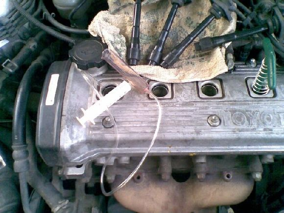 Как раскоксовать двигатель