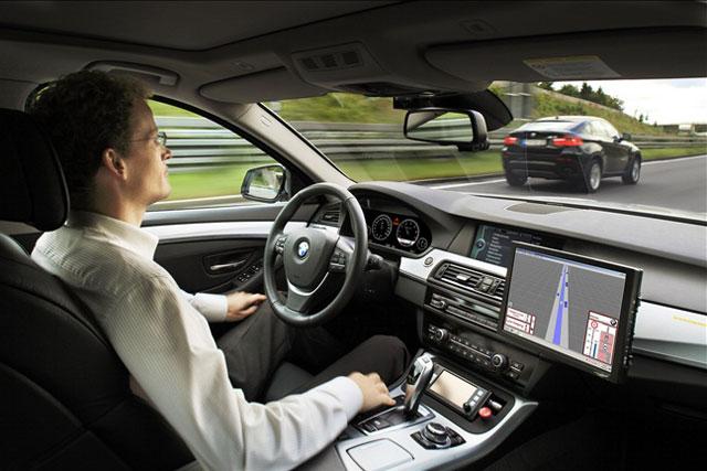 Автомобиль-беспилотник способен самостоятельно ездить