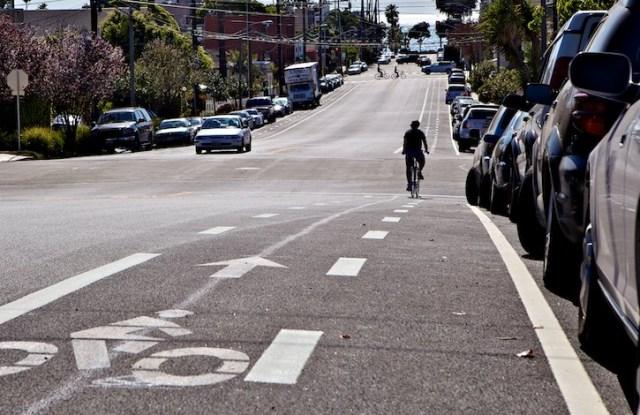 Особое внимание — велосипедистам