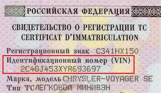 VIN-код для проверки автомобиля