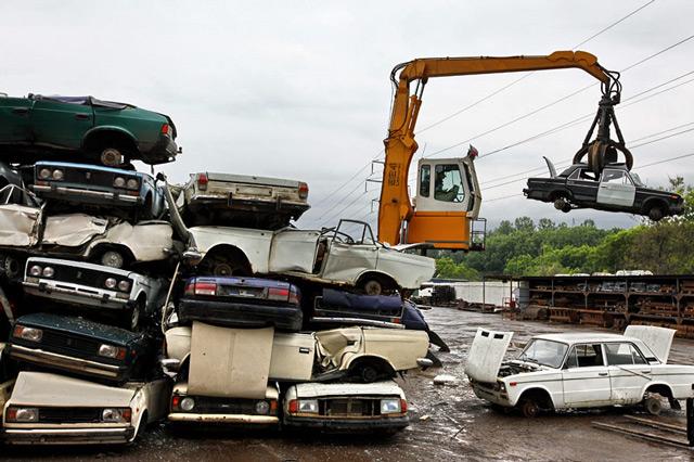 Процесс утилизации автомобиля