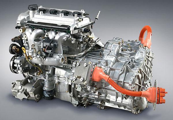 Что такое гибридный двигатель