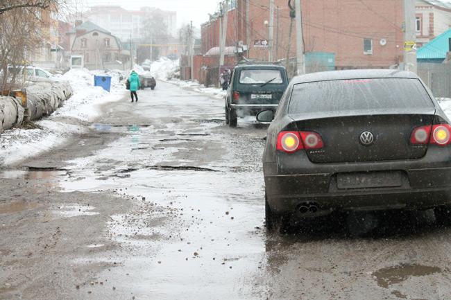 Опасайтесь дорожных ям