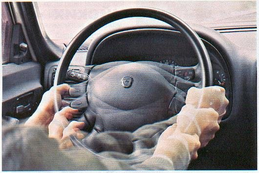 Когда вибрирует руль