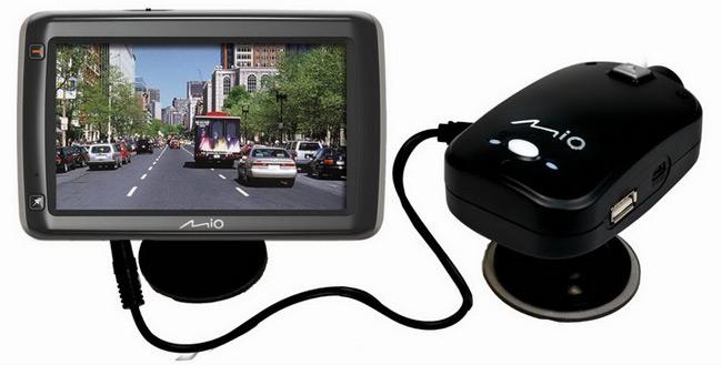 Видеорегистратор Mio c GPS