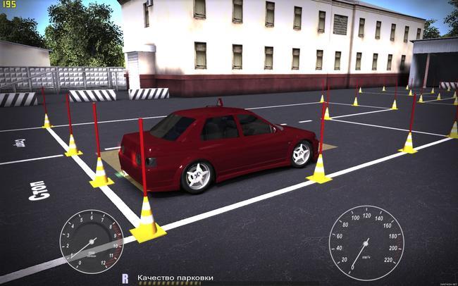 Есть игры которые помогут не только изучить ПДД, но и правильно себя вести на парковке