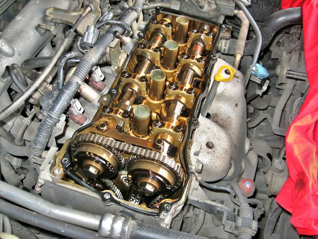 Как должен выглядеть двигатель