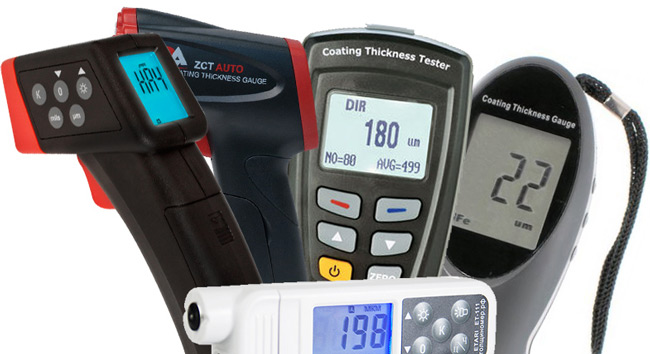 Чтобы выбрать толщиномер ЛКП, надо проанализировать аппараты более подробно