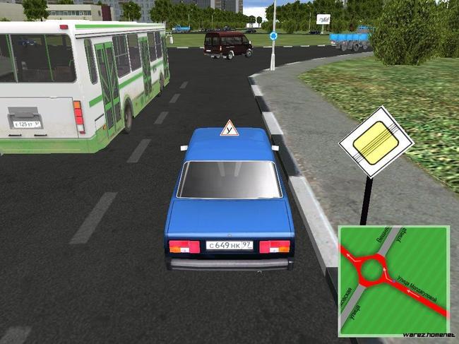 Симулятор игры с воссозданием условий города