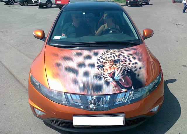 Все больше стилизованных машин появляется на улицах