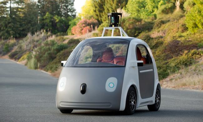Так выглядит автомобиль от Google