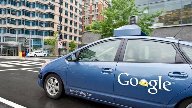 Тестирование гугломобиля в городских условиях