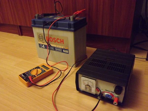 Полноценная зарядка аккумулятора