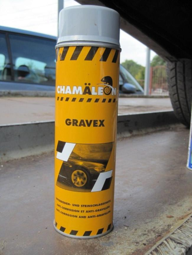 Существуют разные виды гравитекса: окрашиваемый и неокрашиваемый