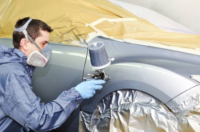 Как при очистке, так и при покраске обязательно используйте средства индивидуальной защиты