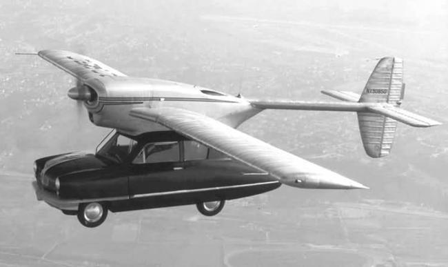 Conv Air Car - гибрид самолёта и машины