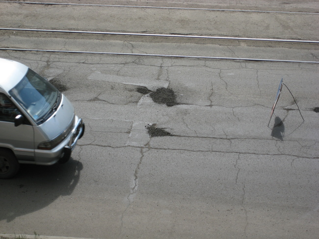 90% дорог находятся в плачевном состоянии