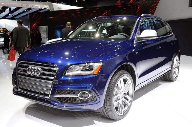 Audi SQ5 - быстрый и экономичный