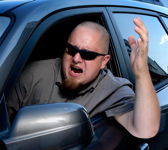 Практически каждый день на дороге можно встретить агрессивного водителя