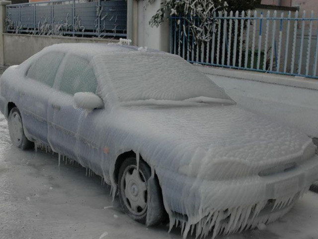 Зимний период преподносит сюрпризы многим автомобилистам