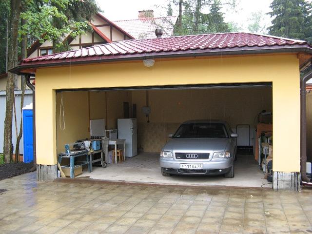 Двойной гараж своими руками 97