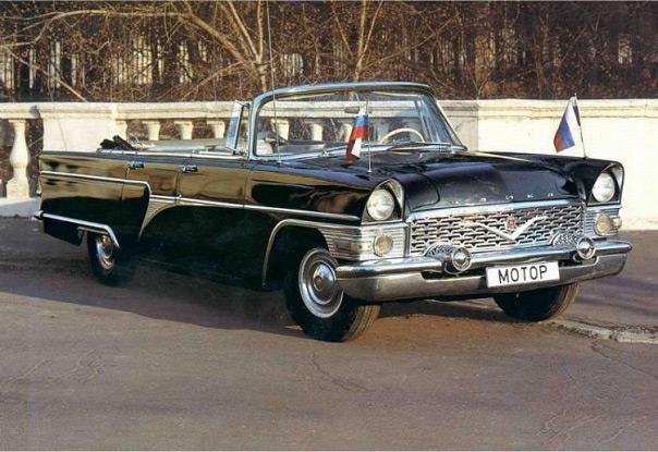 Кабриолеты советского производства - настоящий раритет